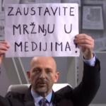 """""""Zaustavite mržnju u medijima"""": Stankoviću podrška poslanika"""