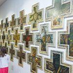 Spektakularna izložba slikara Dragana Martinovića ''Vostani Serbije'' u Galeriji ''Lazar Vozarević''