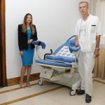 """dr Bojana Janković donirala porođajni krevet klinici """"Narodni front"""""""