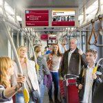 Beč: istorijat ulica na digitalnim ekranima javnog prevoza