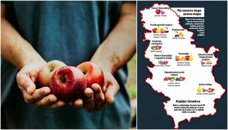 Nova Mapa Srbije Od Podataka Koje Ona Donosi Zavise Vazne Odluke