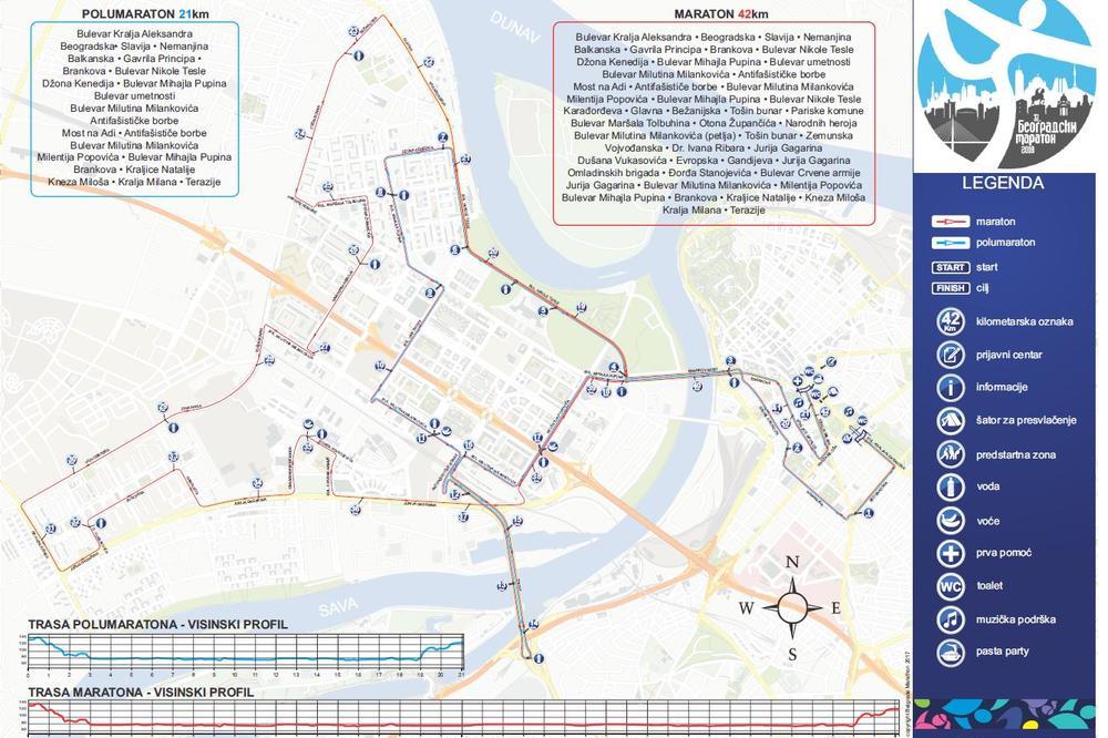 Beograd Od Ponoci Zatvarene Ulice Za Maraton Mediasfera