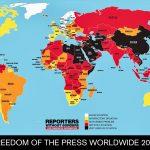 Srbija među zemljama sa najvećim padom medijskih sloboda u svetu