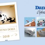 Promocija kalendara sa Koraksovim karikaturama za 2019. godinu