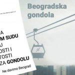 Ne davimo Beograd: Podneta inicijativa Ustavnom sudu zbog plana za gondolu
