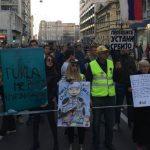 Malinović na protestu: Šta bi rekli heroji sa Košara, ko je danas ministar vojni
