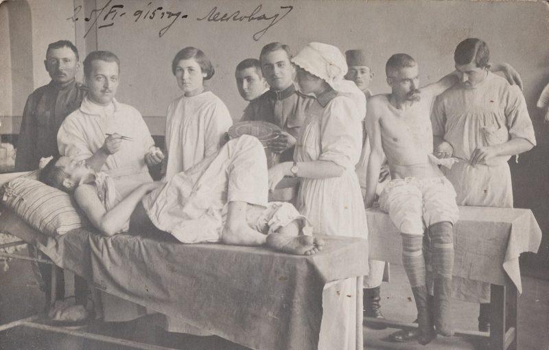 mediasfera-dr-Smilja-Joksic-previjanje-ranjenika-1915-