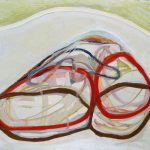 Dva obruca, ulje na platnu, 80x70cm, 2001