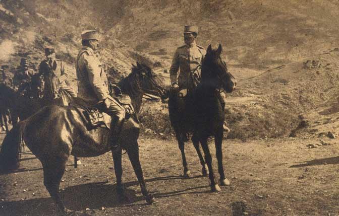 Regent Aleksandar obilazi linije srpske vojske