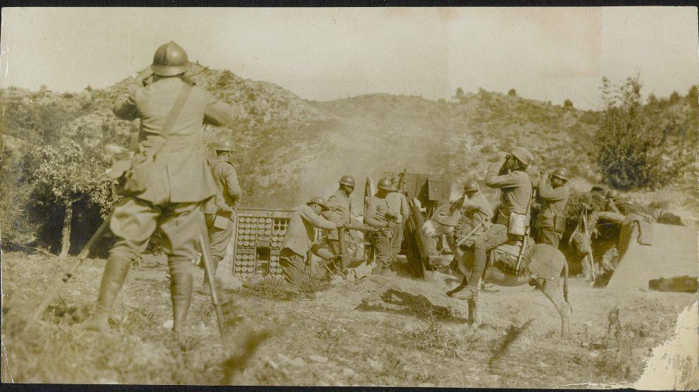 Srpska artiljerija na Solunskom frontu