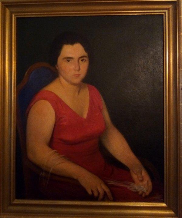 Ljubica Rundo - portret uradio Ismet Mujezinovic (1934.)-min