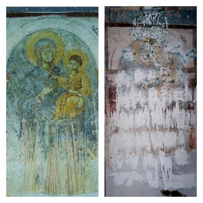 Freska-Bogorodice-sa-Hristom-pre-i-posle-ostecenja-2001..jpg
