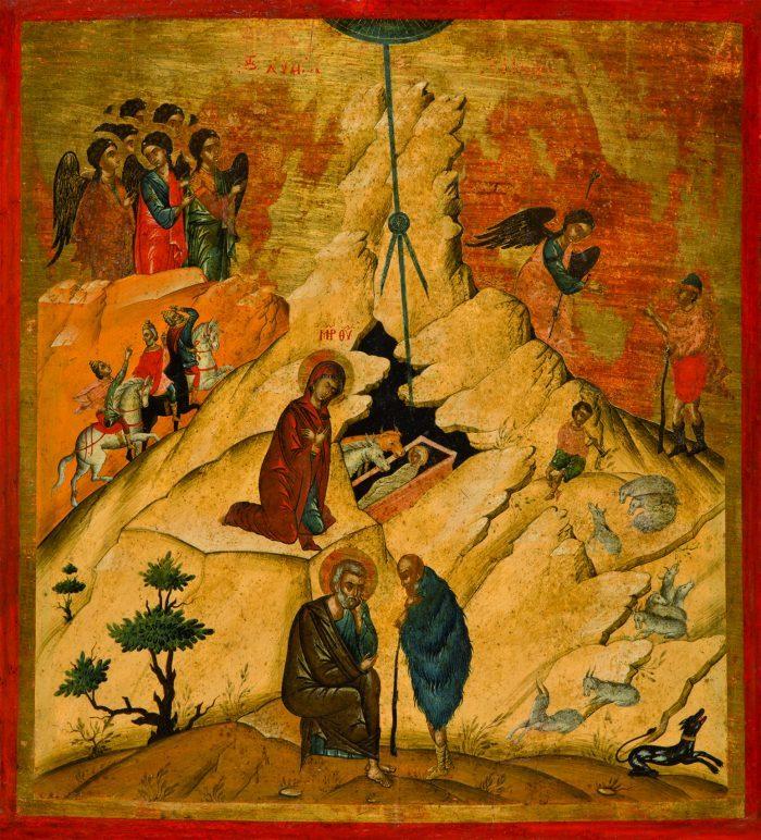 Rodjenje Hristovo, XVI vek