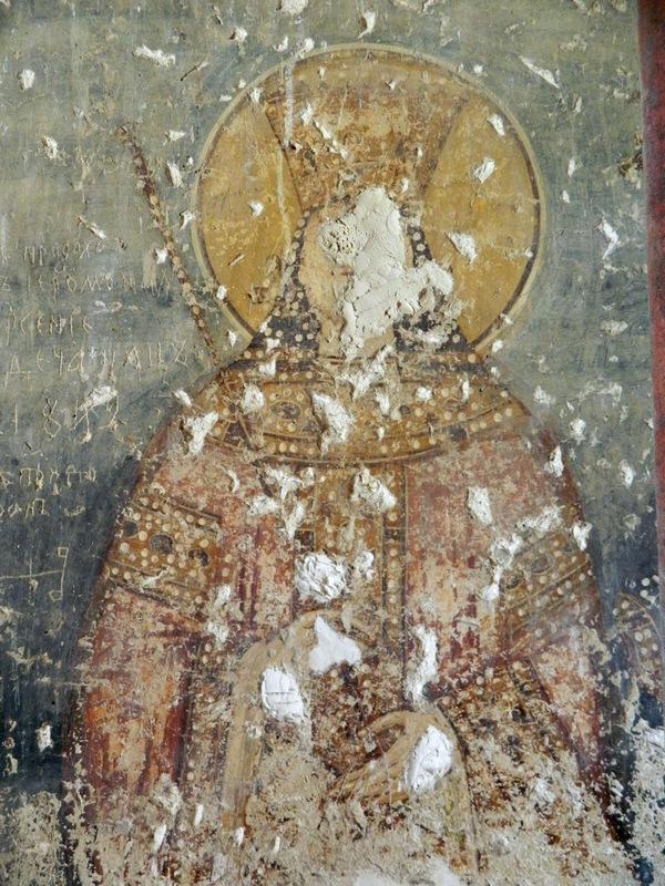 Kraljica Jelena, crkva Svetog Nikole u Ljubotenu, foto Jasmina S. Ciric