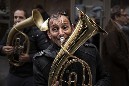Jolly trumpeter